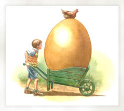 He moved the egg to the warmth of his bedroom.
